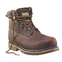 DeWalt Work   Safety Boots Brown Soggy Size 9