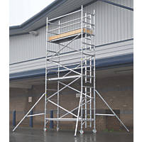 Lyte Helix Single Depth Aluminium Industrial Tower 4.7m
