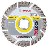 Bosch X-Lock Concrete/Stone Diamond Cutting Disc 125 x 22.23mm