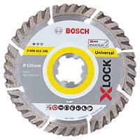 Bosch Concrete/Stone X-LOCK Diamond Cutting Disc 125 x 22.23mm