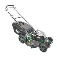 Webb WER21HW 53cm 163cc Self-Propelled Rotary High Wheel 4-in-1 Lawn Mower
