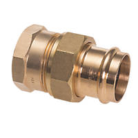 "Conex Banninger B Press  Copper Press-Fit Adapting Female Union Coupler 22mm x ¾"" 5 Pack"