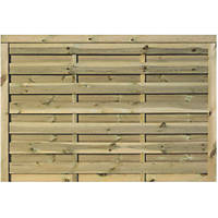 Rowlinson Gresty Double-Slatted  Fence Panel 6 x 4' Pack of 3