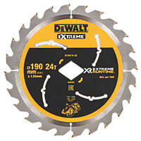 DeWalt Circular Saw Blade 190 x 30mm 24T