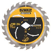 DeWalt Circular Saw Blade 190 x 30mm 24T