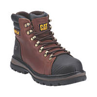 CAT Foxfield   Safety Boots Brown/Black Size 7