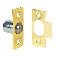 Bales Cabinet Catches Brass-Plated 19 x  10 Pack