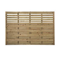 Forest Kyoto  Lattice Top Fence Panels 6 x 4' Pack of 4