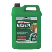 Ronseal Sprayable One Coat Fencelife Red Cedar 5Ltr