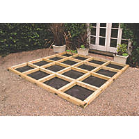 Forest Deck Bearer Decking Kit 0.07 x 2.4 x 0.07m 10 Pack