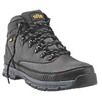 Site Asteroid   Safety Boots Charcoal Grey Size 8
