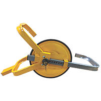 "Streetwize Full-Face Wheel Clamp 13""-17"" Yellow"