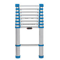 Aluminium Telescopic Extension Ladder 2.63m