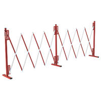 Armorgard BAR1 Expandable Barrier Red / White
