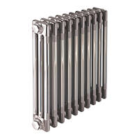 Acova  3-Column Horizontal Designer Column Radiator 600 x 628mm Raw Metal