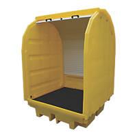 BP4HC 410Ltr Covered Bund Pallet 1420 x 1470 x 2070mm