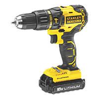 Stanley FatMax KFMCD628D1K-GB 18V 2.0Ah Li-Ion  Brushless Cordless Hammer Drill