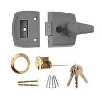 ERA 1630-51 Replacement Night Latch Satin 60mm Backset