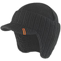 Scruffs T50986 Peaked Hat Black