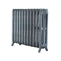 Arroll  3-Column Cast Iron Radiator 760 x 914mm Cast Grey