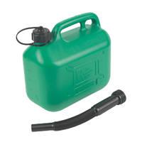 Hilka Pro-Craft Plastic Fuel Can Green 5Ltr