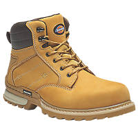 Dickies Canton   Safety Boots Honey  Size 8