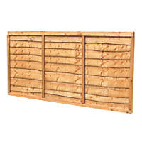 Forest Lap Fence Panels 6 x 3' Pack of 5
