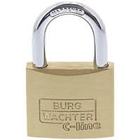 Burg-Wachter  Brass Keyed Alike  Long Shackle  Padlock 40mm 2 Pack