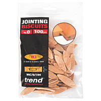 Trend No. 0 Jointing Biscuits 100 Pack