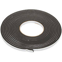 Diall Draught Seal Roll Black 6m