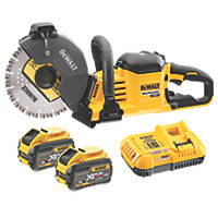 DeWalt DCS690X2-GB 230mm 54V 9.0Ah Li-Ion XR FlexVolt Brushless Cordless Cut-Off Saw
