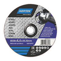 "Norton Grinding Disc 9"" (9"") x 6 x 22.23mm"