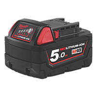 Milwaukee M18 B5 18V 5.0Ah Li-Ion RedLithium Battery
