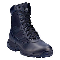"Magnum Panther 8"" Side Zip(55627)   Non Safety Boots Black Size 12"