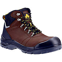 Amblers AS203 Laymore   Safety Boots Brown Size 8