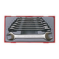 Teng Tools TT6208 Open-Ended Spanner Set 8 Pcs