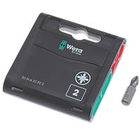 Wera Bit-Box Tough Bits PZ2 x 25mm 20 Pack
