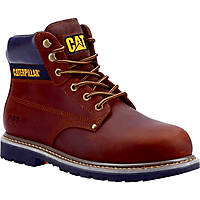 CAT Powerplant S3   Safety Boots Brown Size 10