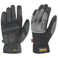 Snickers Power Core Performance Gloves Black/Grey Large