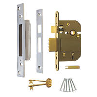 ERA Satin BS 5-Lever Mortice Sashlock 64mm Case - 44mm Backset
