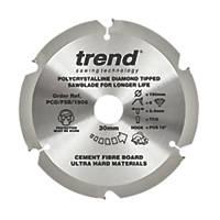 Trend Fibreboard Sawblade 190 x 30mm 6T