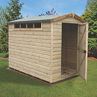 Shire 8' x 10' (Nominal) Apex Shiplap T&G Timber Shed