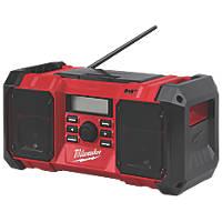 Milwaukee M18JSRDAB+-0 DAB+ / FM Site Radio 18V