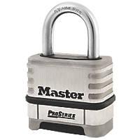 Master Lock 1174D Stainless Steel Weatherproof  Combination  Padlock 58mm
