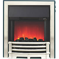 Be Modern Aspen Black / Chrome Switch Control Inset Electric Fire