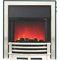 Be Modern Aspen Black / Chrome Switch Control Inset Electric Fire