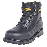 DeWalt Hancock   Safety Boots Black Size 8