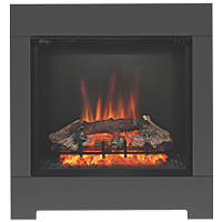 Be Modern Serena Black Switch Control Wall-Mounted Electric Fire
