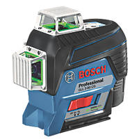Bosch GLL 3-80 CG Professional 12V 2.0Ah Li-Ion Coolpack Green Self-Levelling Multi-Line Laser Level