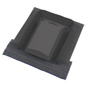 Glidevale Versa Tile Vent Grey 110mm Roofing Ventilation